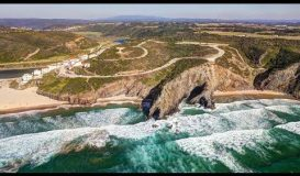 Portugal - Algarve - Costa Vicentina (drone 4k) (surf)